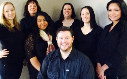 Dentist and Staff at Alaska Dental Associates